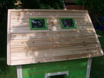 Kinderspielhaus MAYA - Stelzenhaus aus Holz mit Rutsche - 7