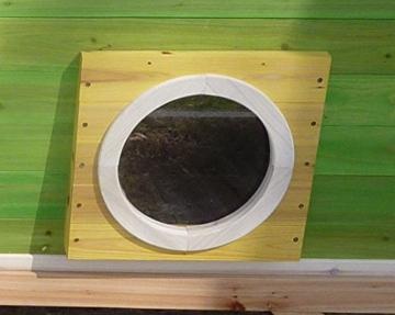 Kinderspielhaus MAYA - Stelzenhaus aus Holz mit Rutsche - 9